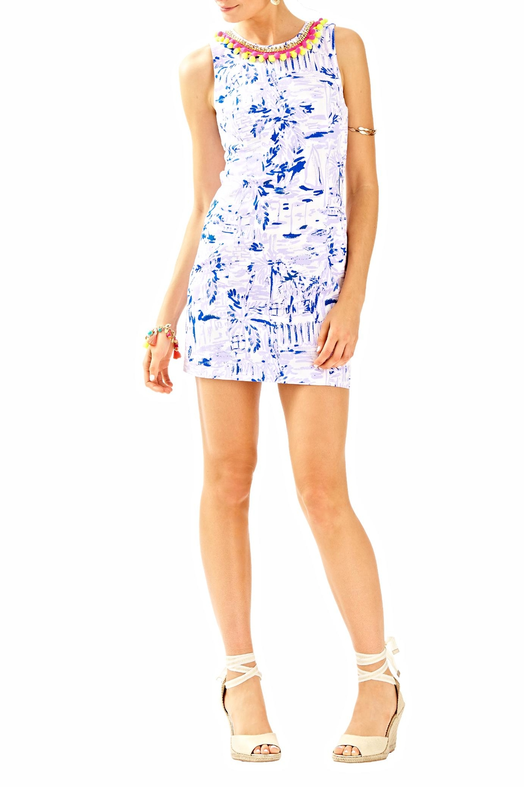 Lilly Pulitzer Mila Shift Dress - Back Cropped Image