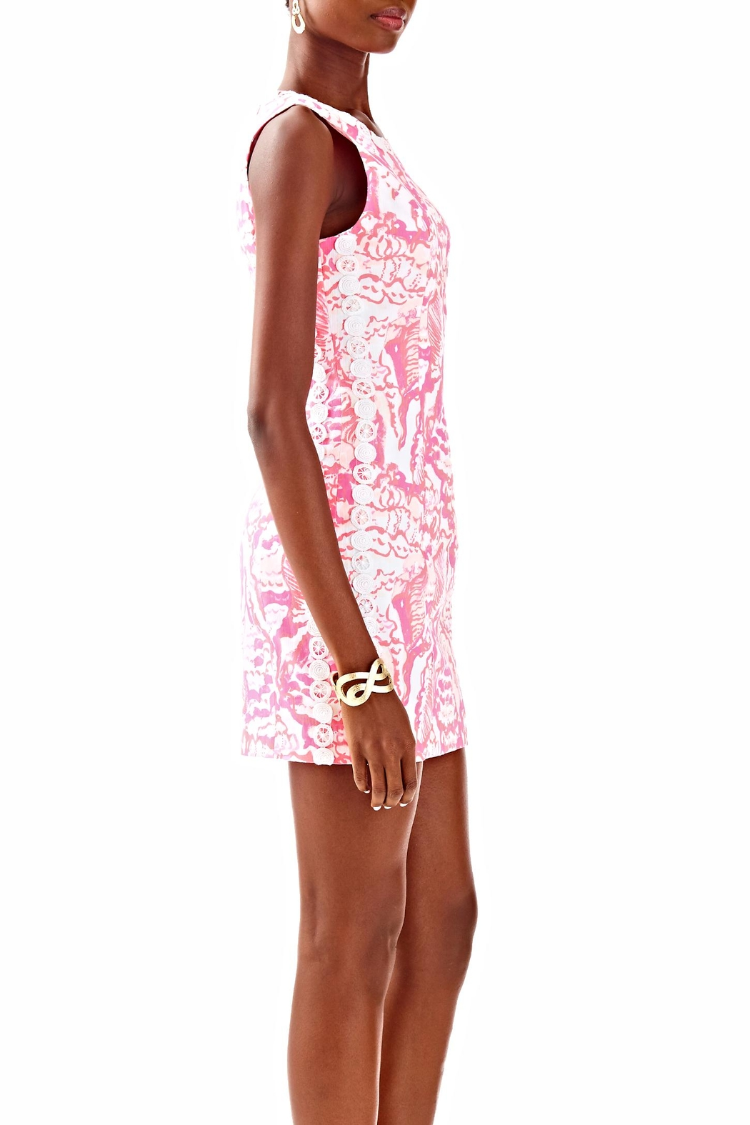 Lilly Pulitzer Shift Dress - Back Cropped Image