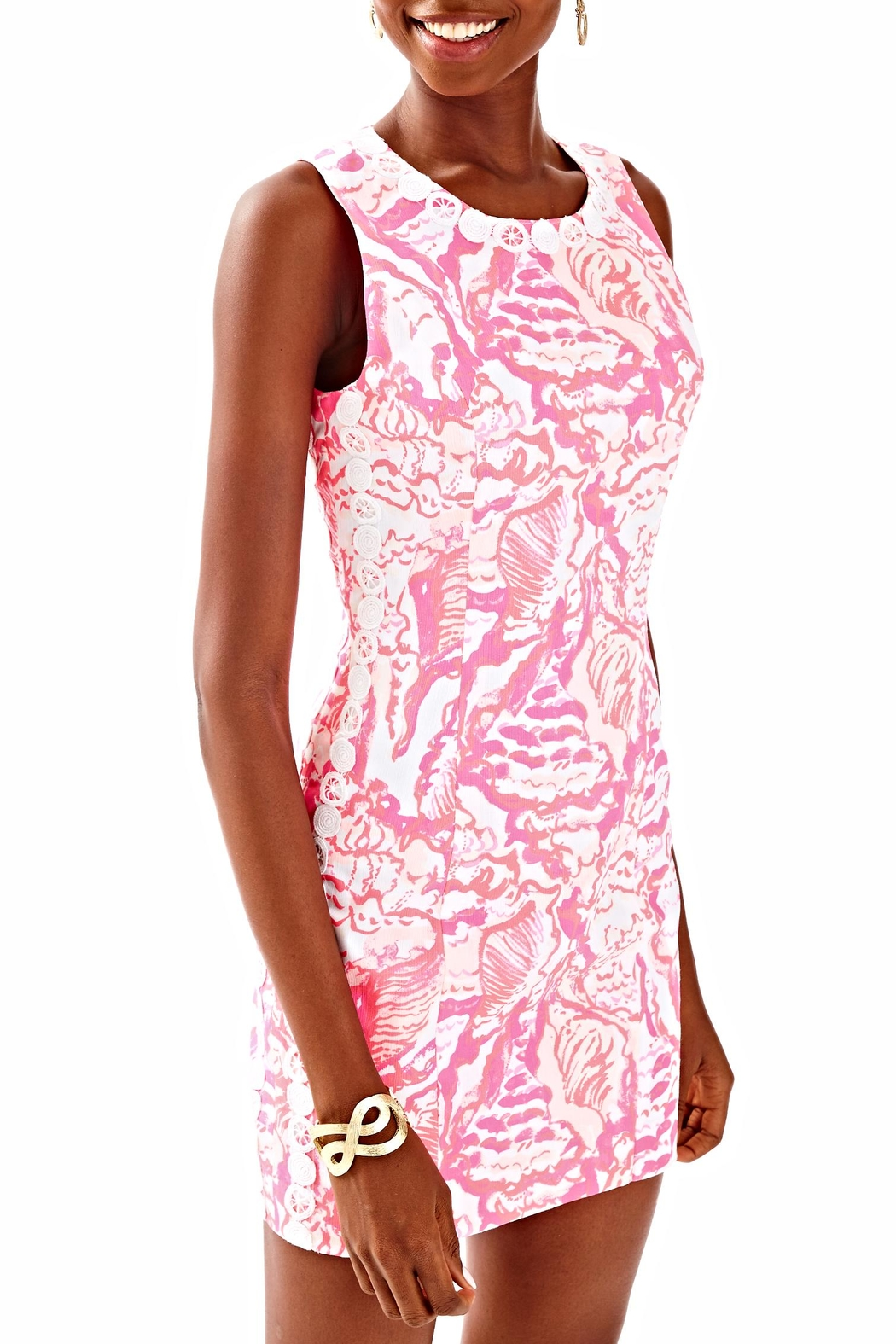 Lilly Pulitzer Shift Dress - Front Full Image