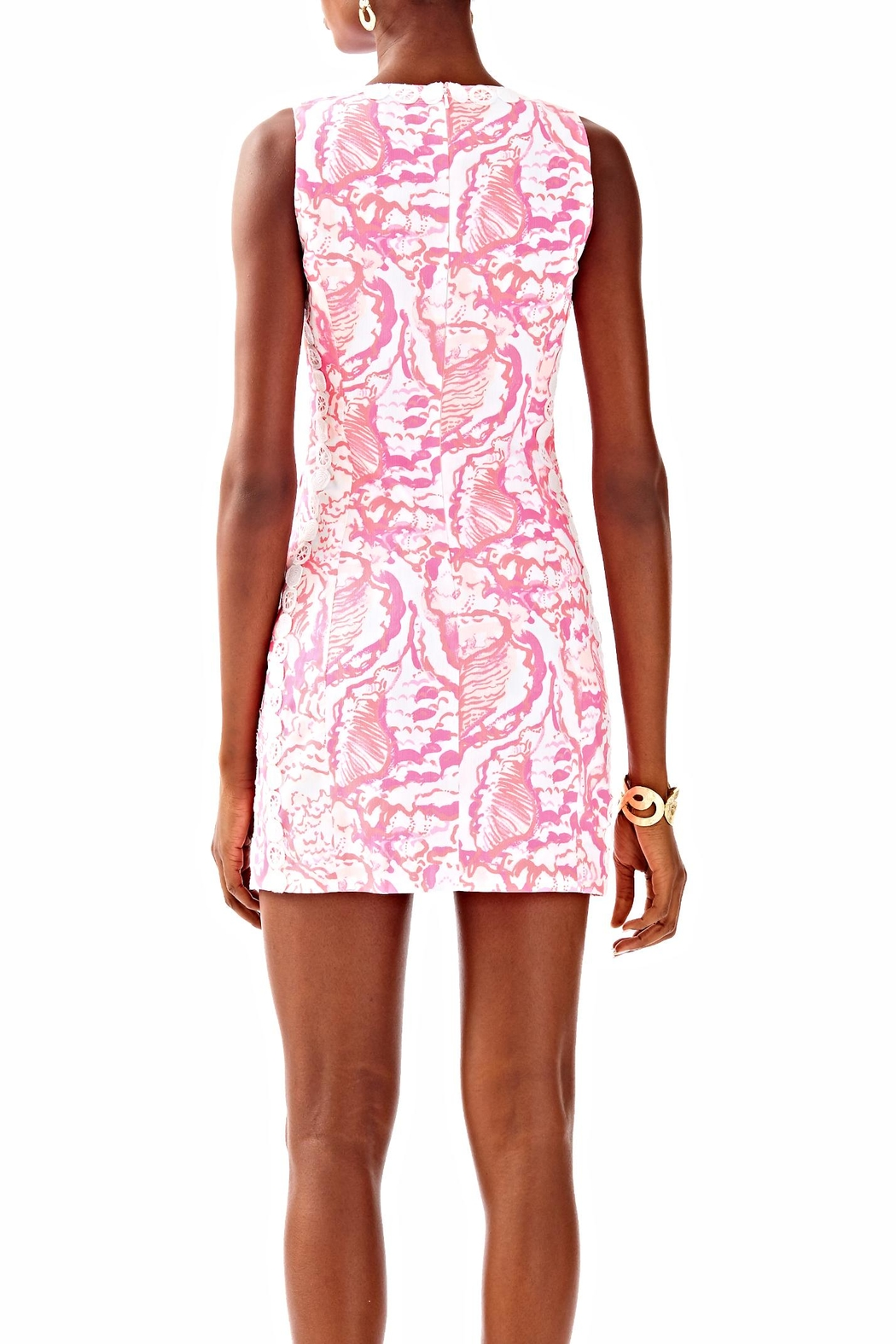 Lilly Pulitzer Shift Dress - Side Cropped Image