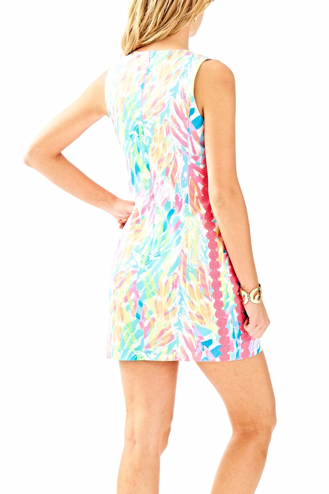 Lilly Pulitzer Mila Shift Dress - Front Full Image