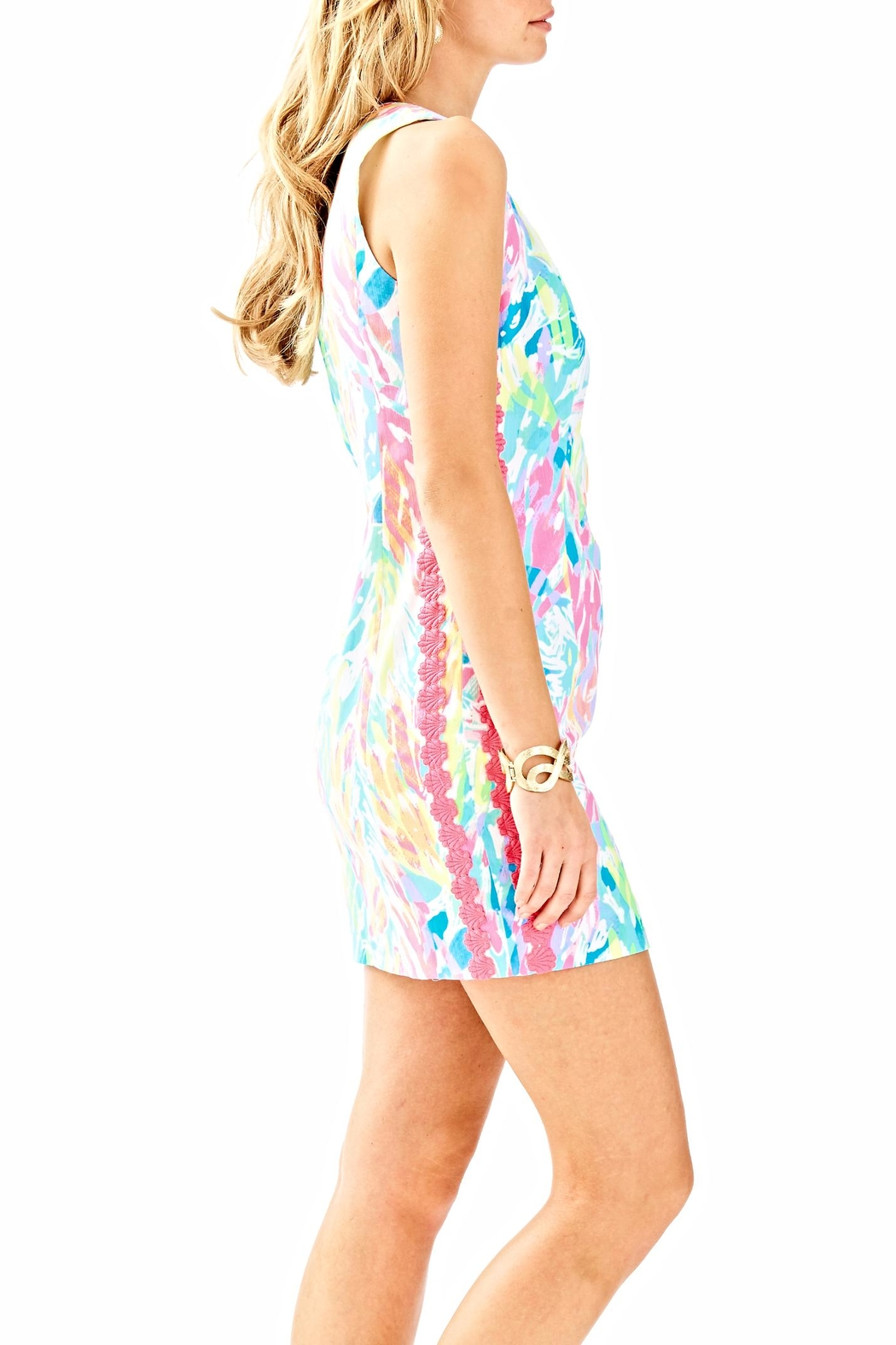 Lilly Pulitzer Mila Shift Dress - Side Cropped Image