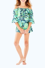 Lilly Pulitzer Mini Calla Romper - Front cropped