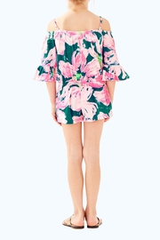 Lilly Pulitzer Mini Calla Romper - Front full body