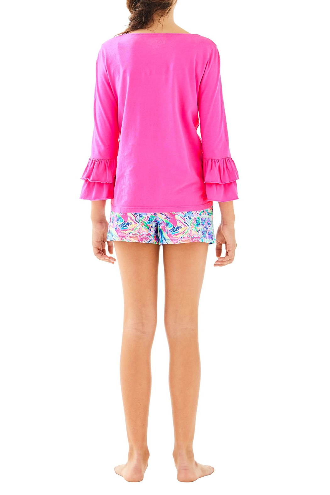 Lilly Pulitzer Mini Callahan Short - Back Cropped Image