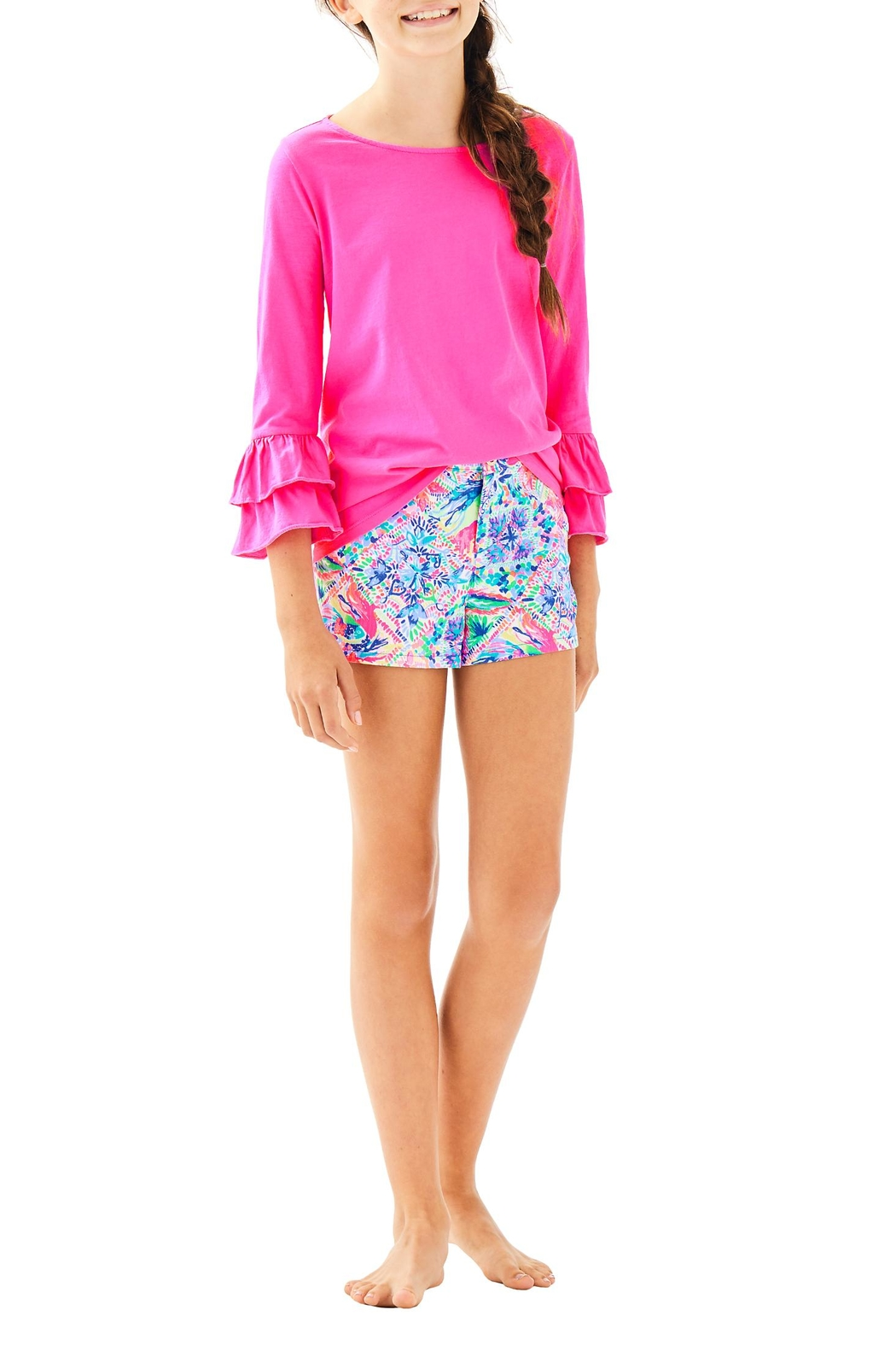 Lilly Pulitzer Mini Callahan Short - Side Cropped Image