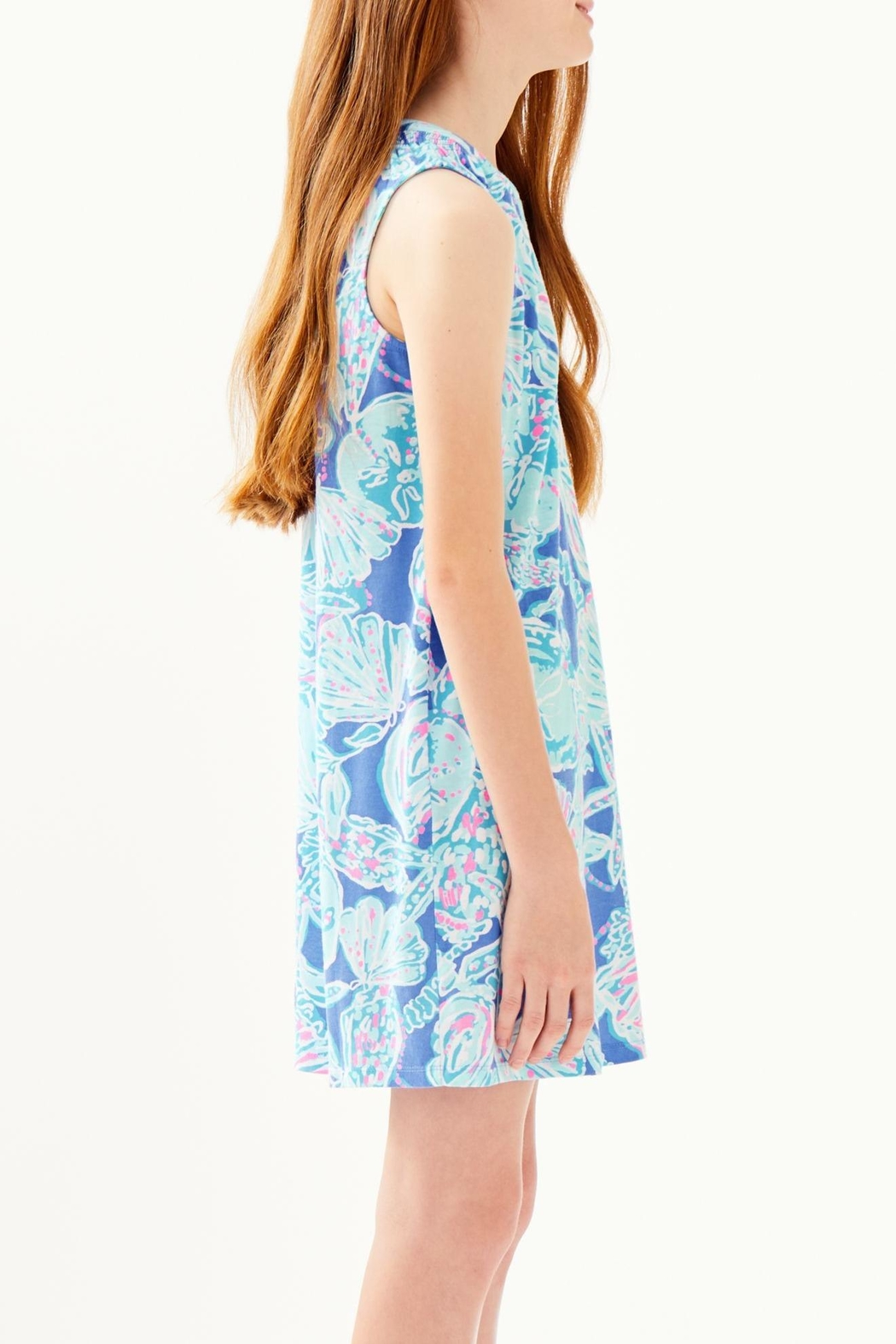 Lilly Pulitzer Mini Essie Dress - Back Cropped Image