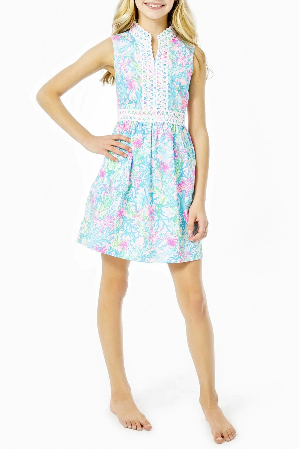 Lilly Pulitzer Mini Franci Dress - Front Full Image