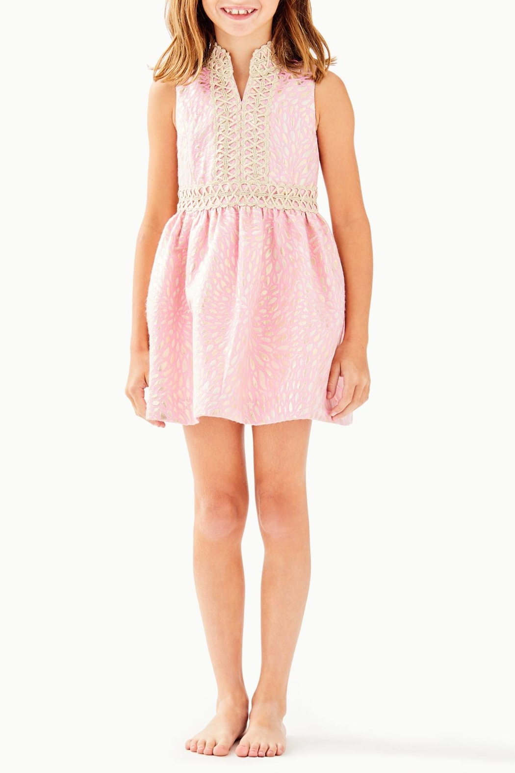 Lilly Pulitzer Mini Franci Dress - Front Cropped Image