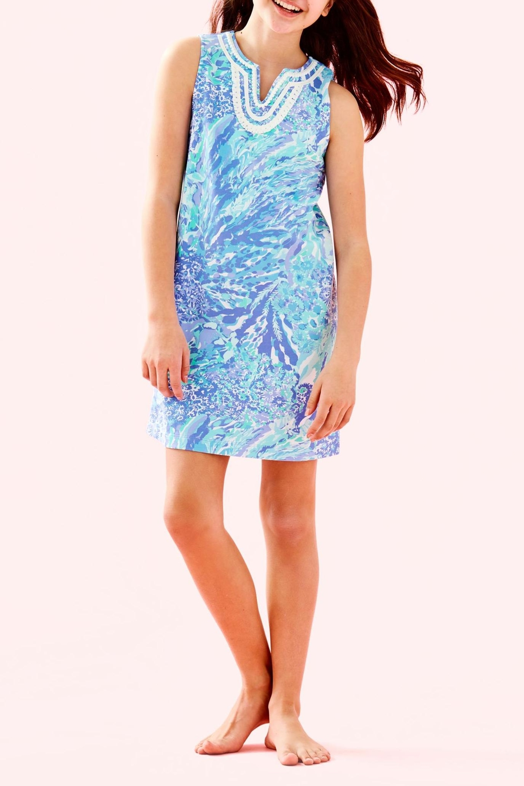 Lilly Pulitzer Mini Harper Shift - Back Cropped Image