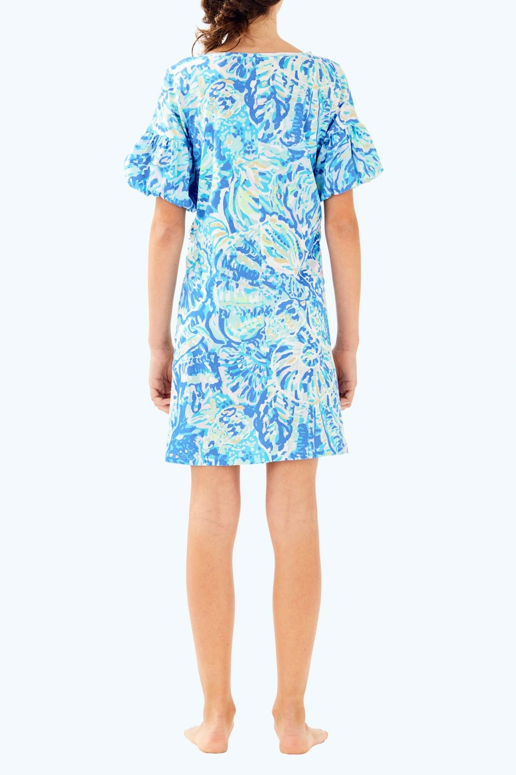 Lilly Pulitzer Mini Lindell Dress - Back Cropped Image
