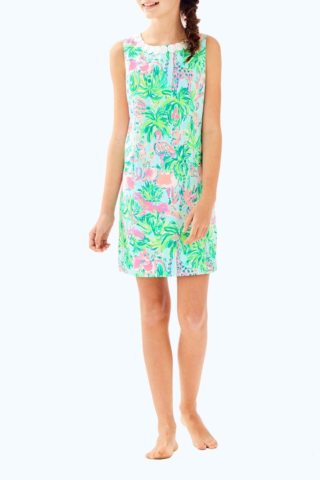Lilly Pulitzer Mini Mila Dress - Front Cropped Image