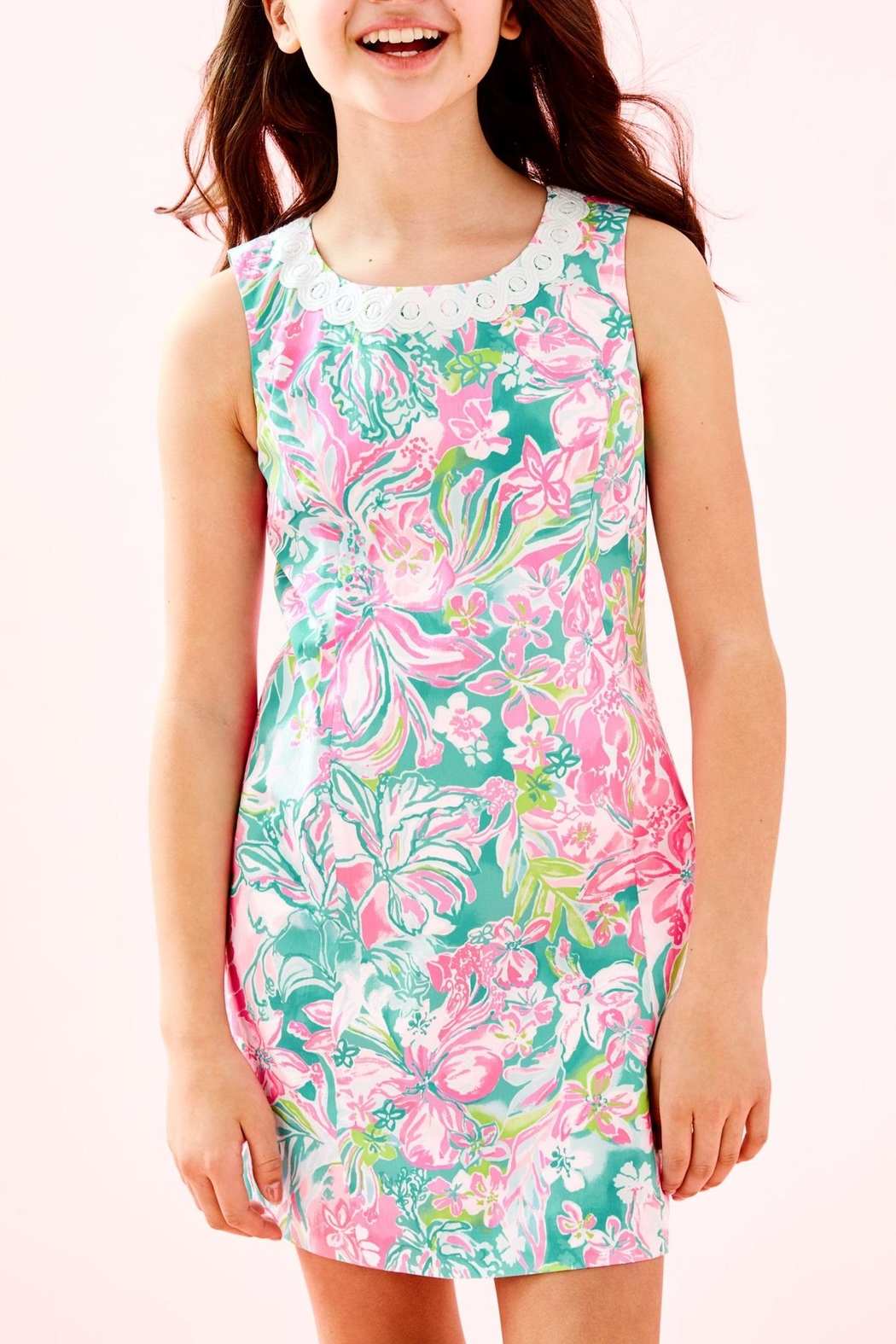 Lilly Pulitzer Mini Mila Shift - Front Cropped Image