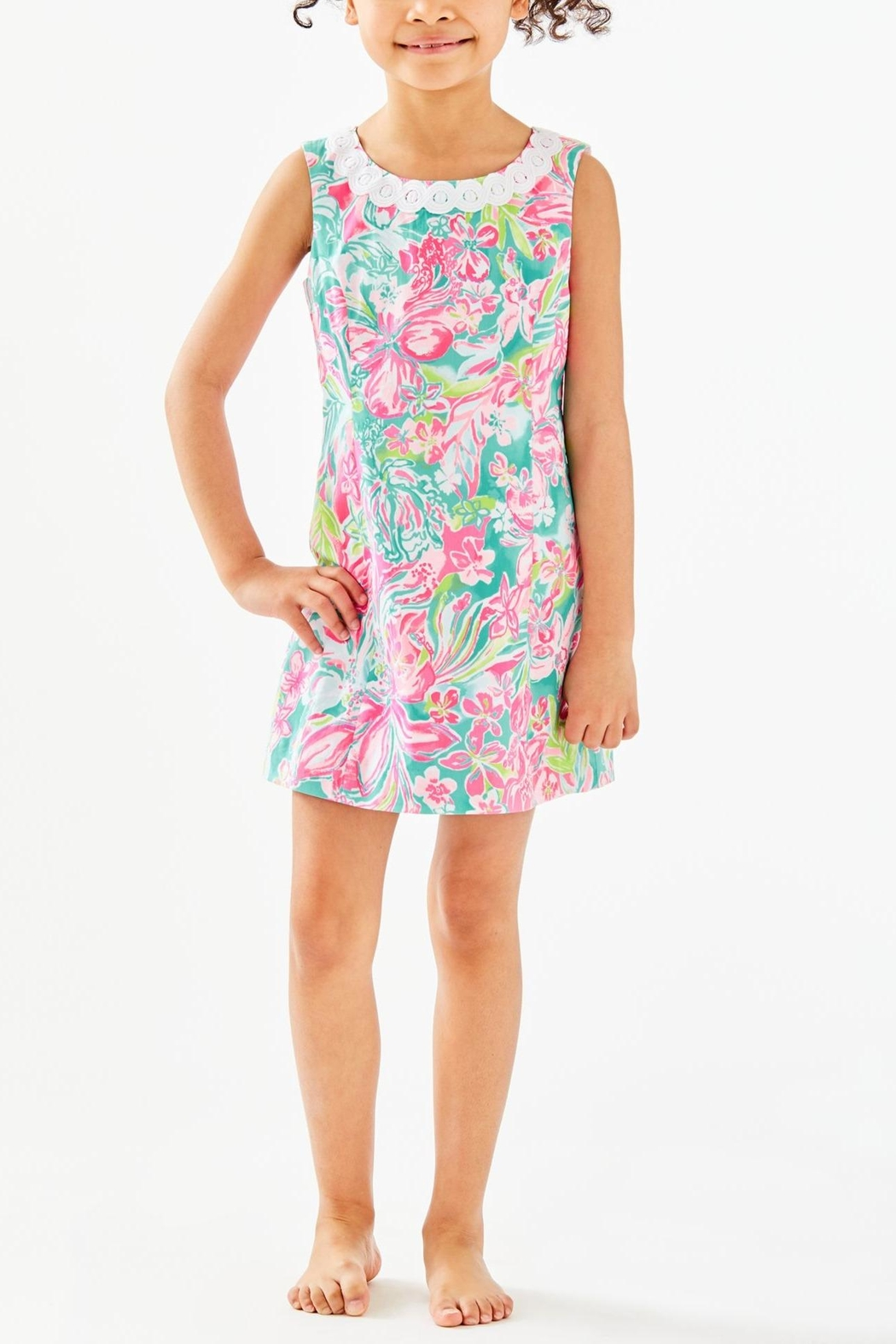 Lilly Pulitzer Mini Mila Shift - Back Cropped Image