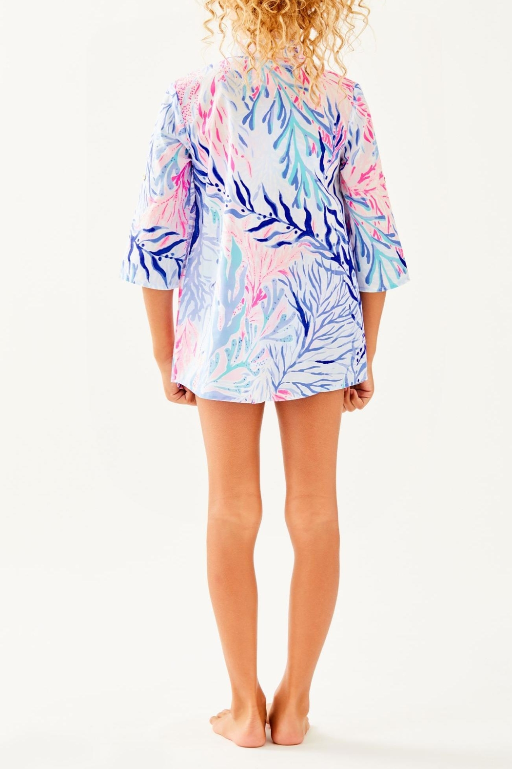 Lilly Pulitzer Mini Natalie Cover-Up - Side Cropped Image