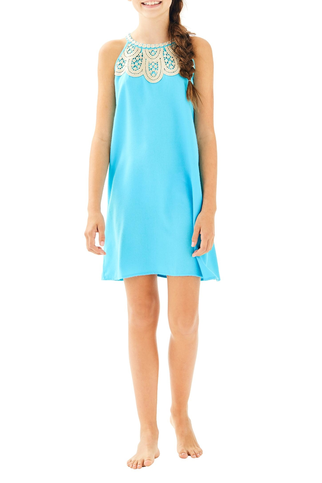 Lilly Pulitzer Mini Pearl Shift - Side Cropped Image