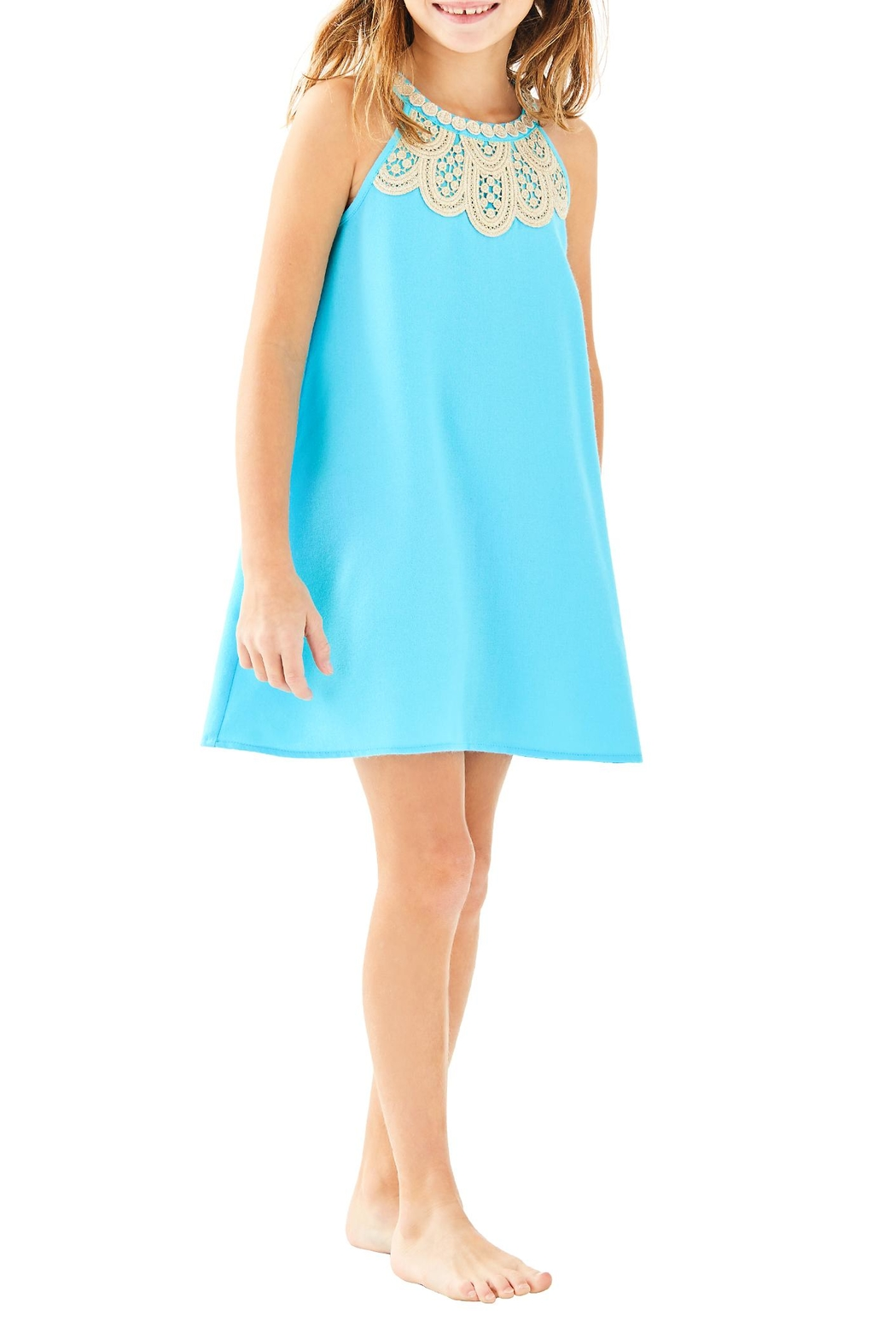 Lilly Pulitzer Mini Pearl Shift - Front Cropped Image