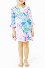 Lilly Pulitzer Mini Sophie Ruffle Dress Upf-50+ - Front cropped