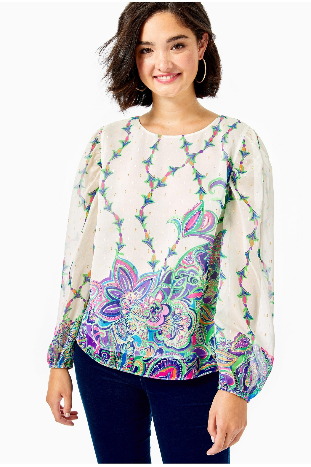 Lilly Pulitzer Miriam Top - Main Image