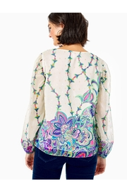 Lilly Pulitzer Miriam Top - Front full body