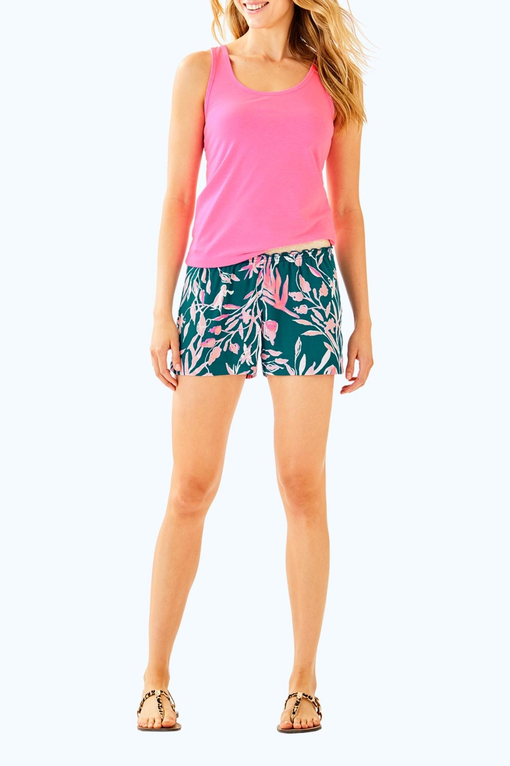 Lilly Pulitzer Moemi Tank - Side Cropped Image