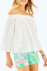 Lilly Pulitzer Moira Top - Product Mini Image