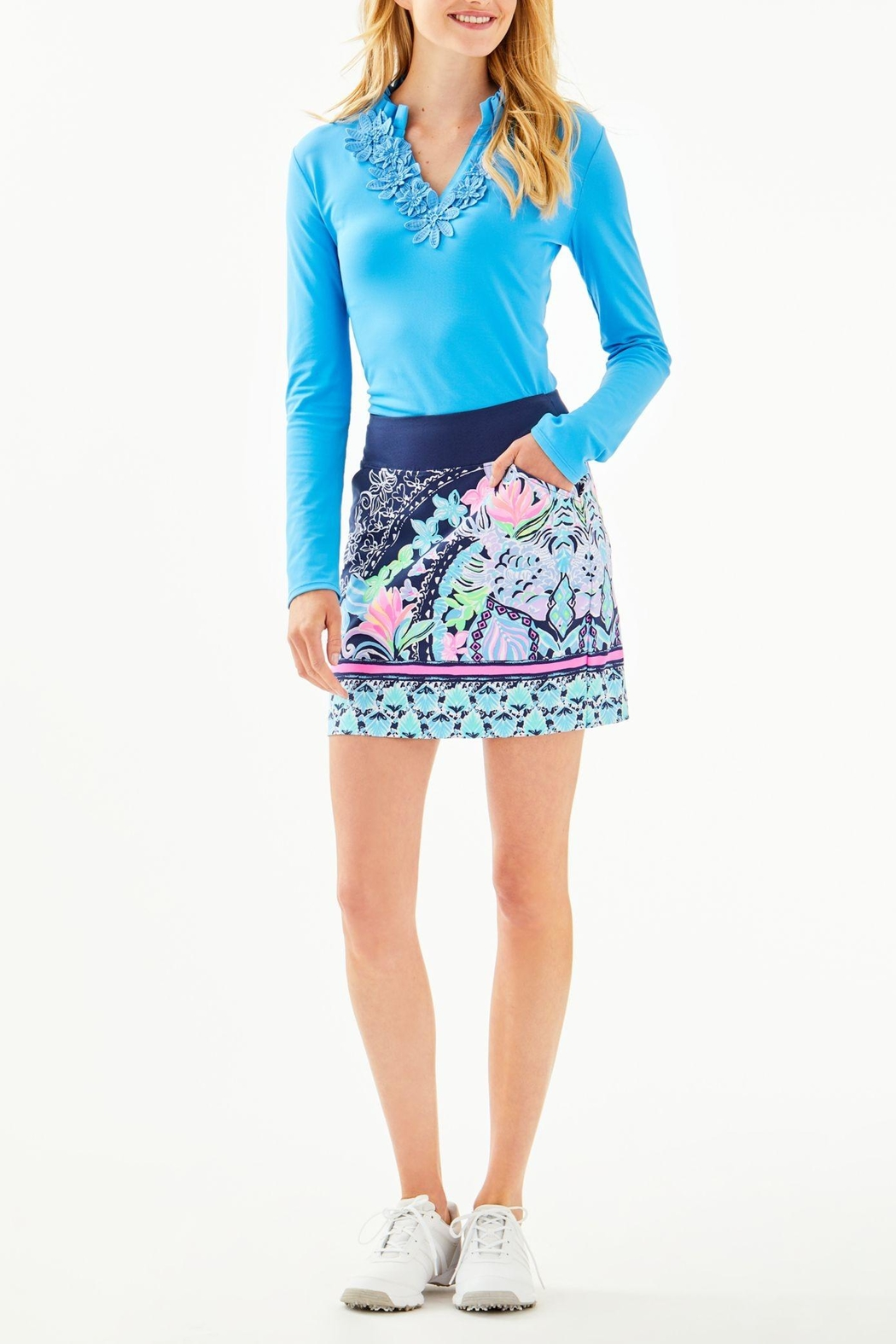 Lilly Pulitzer Monica Skort - Back Cropped Image