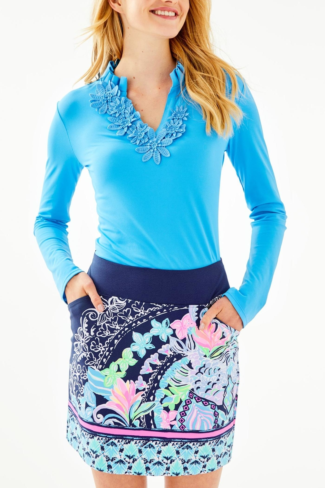 Lilly Pulitzer Monica Skort - Front Cropped Image