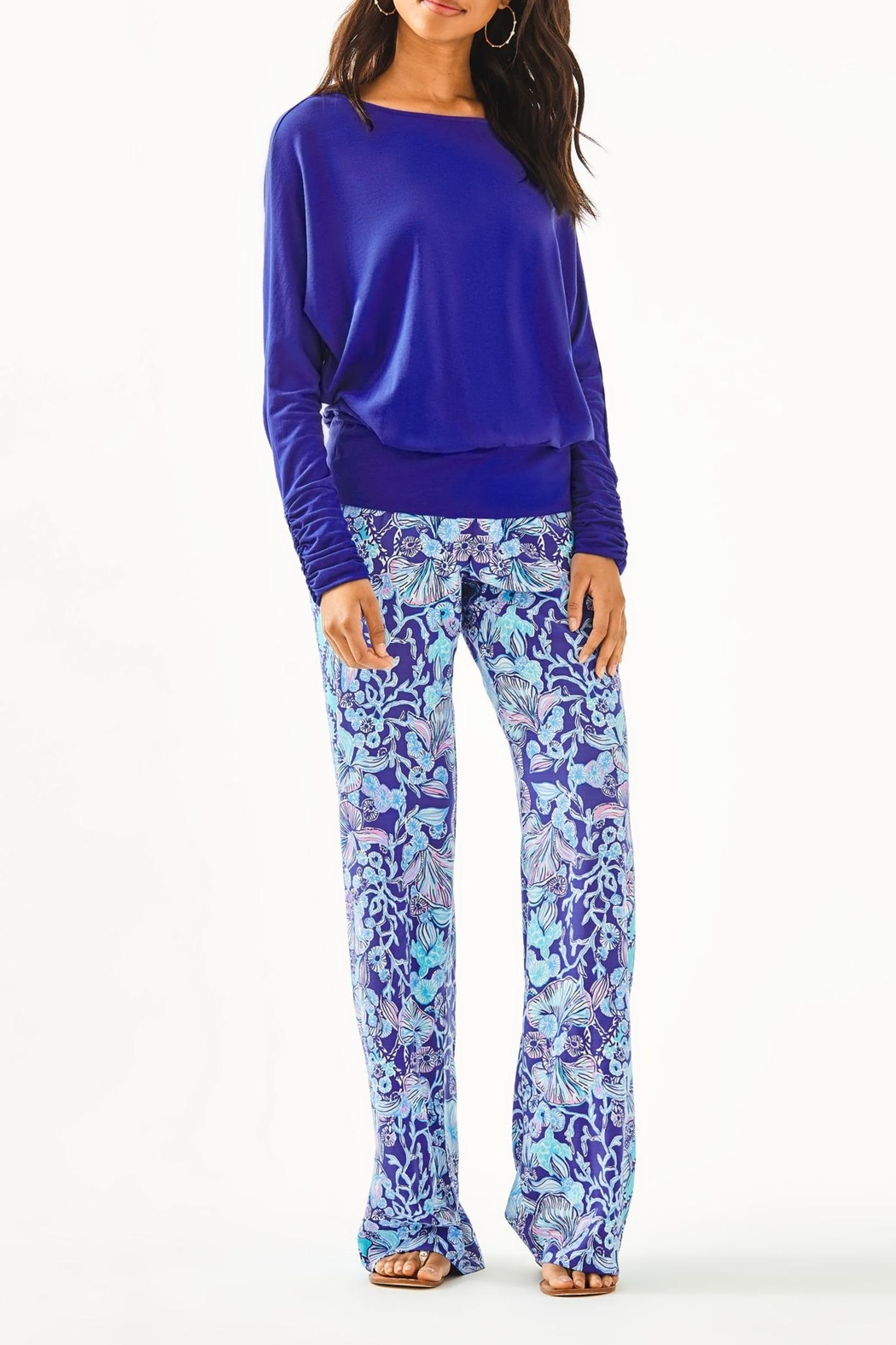 Lilly Pulitzer Moore Top - Side Cropped Image