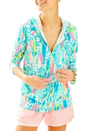 Lilly Pulitzer Colorful Printed Hoodie - Product Mini Image