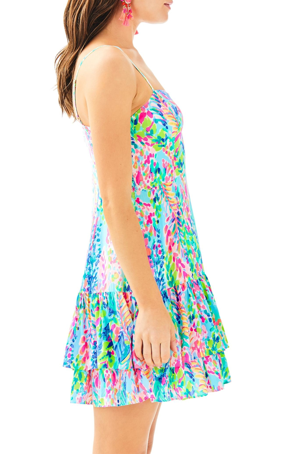 Lilly Pulitzer Morgana Dress - Side Cropped Image