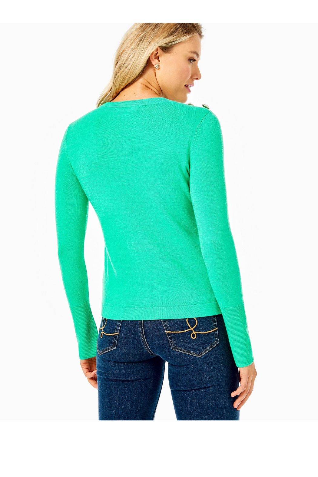 Lilly Pulitzer Morgen Sweater - Front Full Image