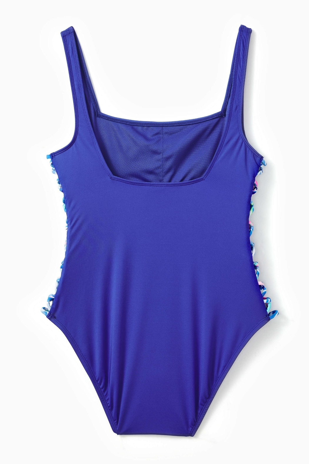 Lilly Pulitzer Morri Squareneck One-Piece - Front Full Image