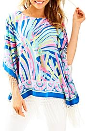 Lilly Pulitzer Moya Silk Caftan - Product Mini Image