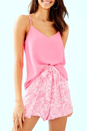 Lilly Pulitzer Mylee Tie-Front Short - Front cropped