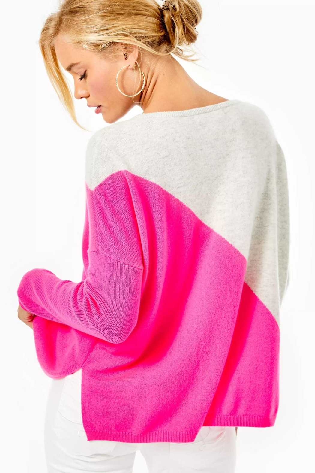 Lilly Pulitzer Napa Cashmere Sweater - Front Full Image