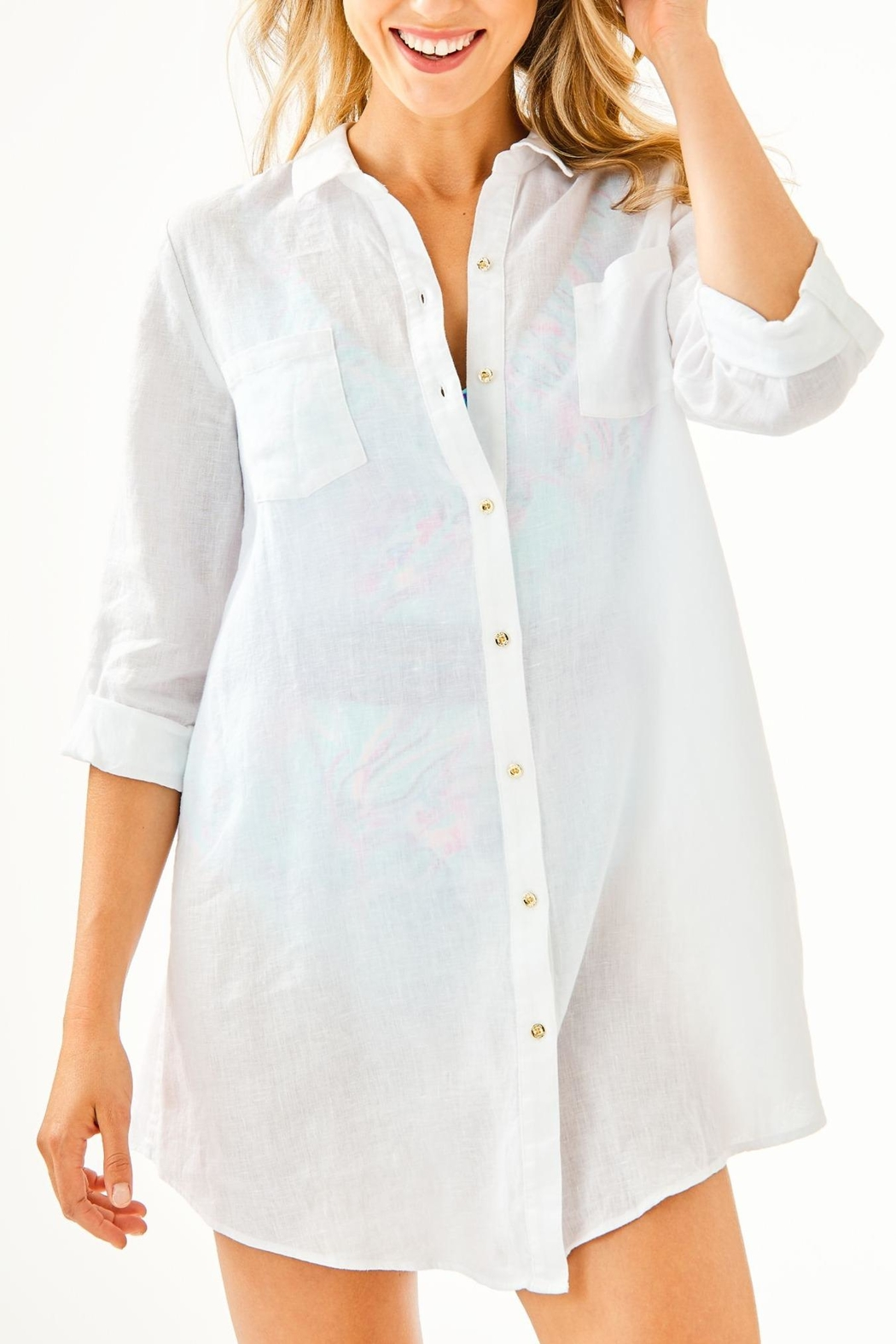 Lilly Pulitzer Natalie Coverup - Main Image