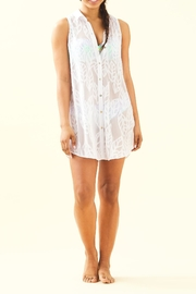 Lilly Pulitzer Natalie Coverup - Front full body