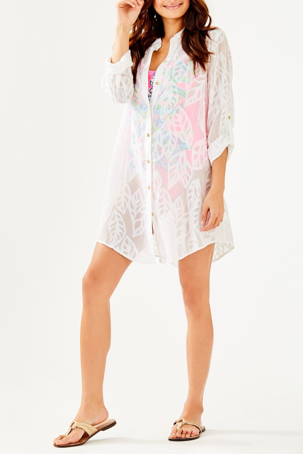02a4777c5d3b5 Lilly Pulitzer Natalie Shirtdress Coverup from Sandestin Golf and ...
