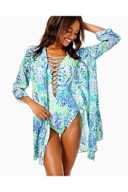 Lilly Pulitzer Natalie Shirtdress Cover-Up - Side cropped