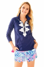 Lilly Pulitzer Navy Skipper Popover - Product Mini Image