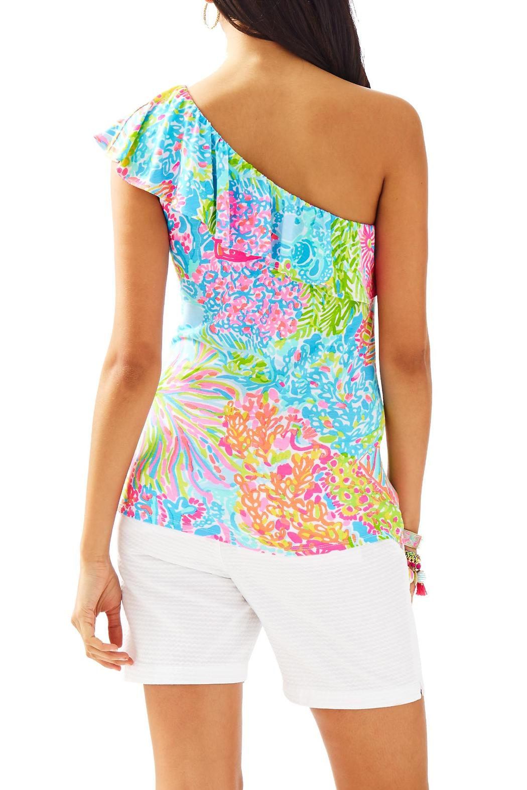 98611b46614 Lilly Pulitzer Neveah One-Shoulder Top from Sandestin Golf and Beach ...