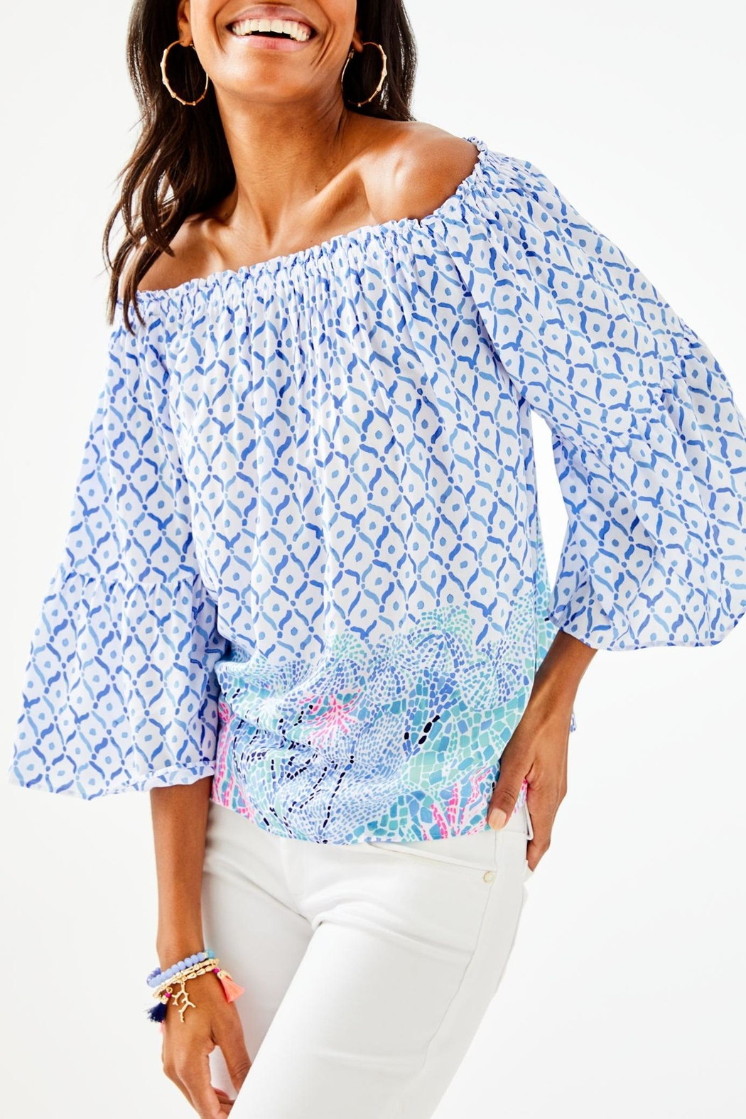 Lilly Pulitzer Nevie Top - Main Image
