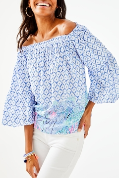 Lilly Pulitzer Nevie Top - Product List Image