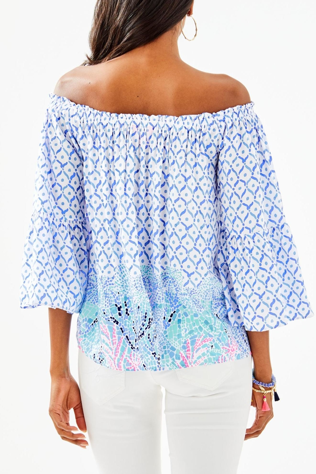 Lilly Pulitzer Nevie Top - Front Full Image