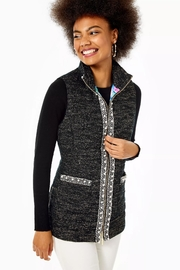 Lilly Pulitzer Noella Puffer Vest - Front cropped