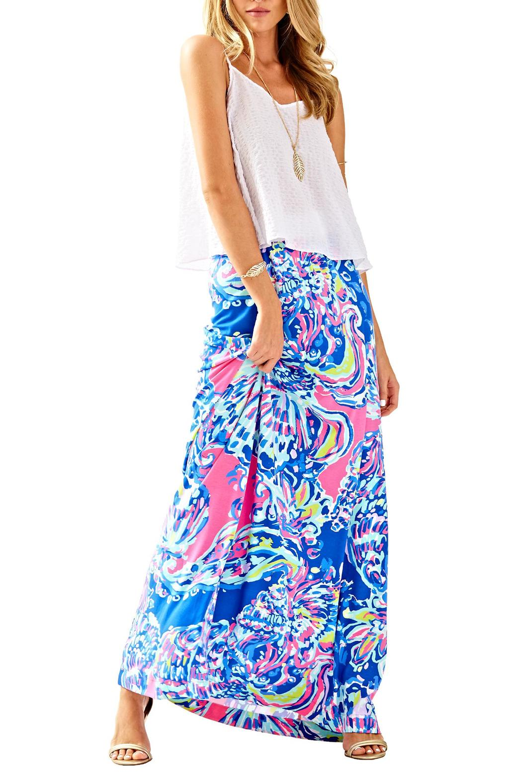 lilly pulitzer nola maxi skirt from sandestin golf