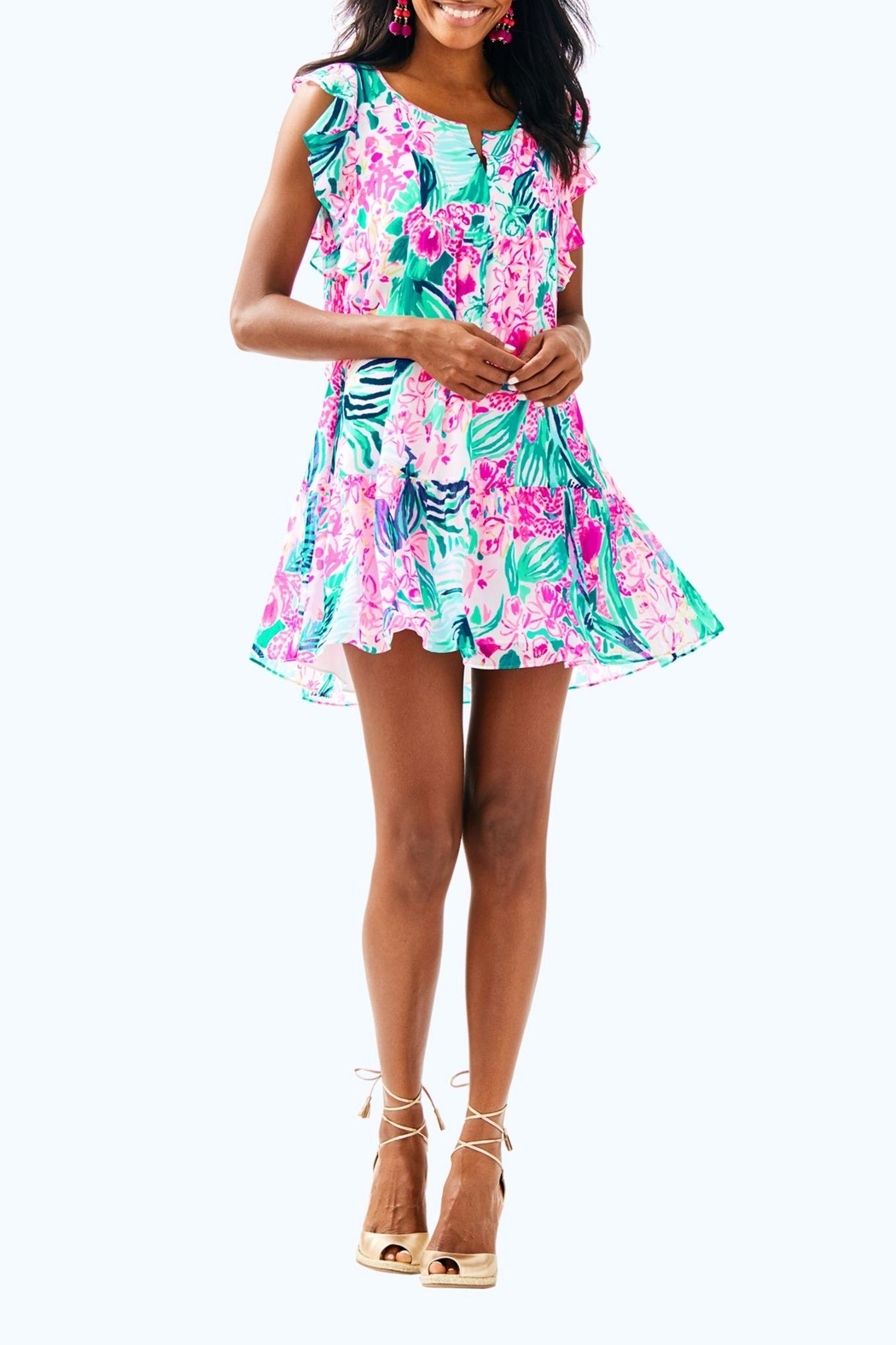 Lilly Pulitzer Nora Dress - Back Cropped Image