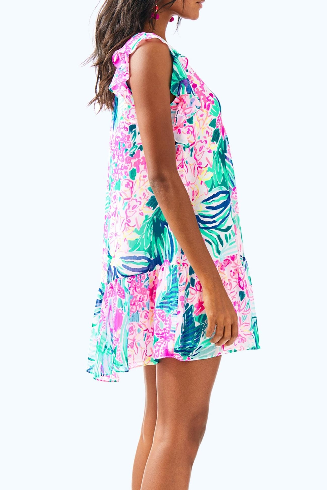 Lilly Pulitzer Nora Dress - Side Cropped Image