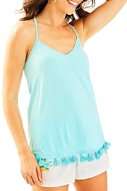 Lilly Pulitzer Tassle Tank Top - Product Mini Image